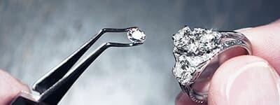 Diamond Cut Long Rectangle