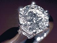 Diamond Cut Small Rectangle