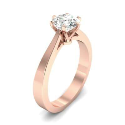 Solitaire Diamond Engagement Ring (0.36 Carat)