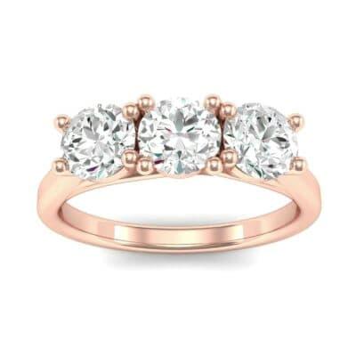 Trinity Trellis Diamond Engagement Ring (1.08 Carat)