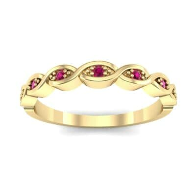 Marquise Ruby Ring (0.12 Carat)