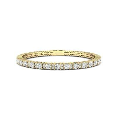 Thin Brilliant Round Diamond Tennis Bracelet (1.75 Carat)