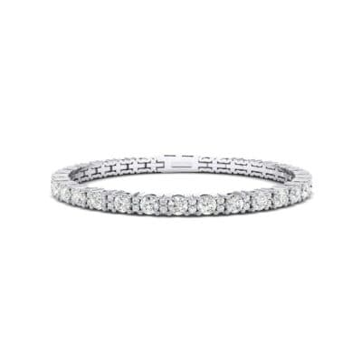 Thin Brilliant Round Diamond Tennis Bracelet (1.75 Carat)