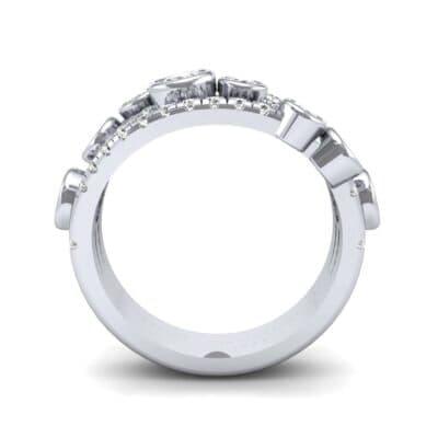 Triple Band Seven-Stone Diamond Ring (1.86 CTW) Side View
