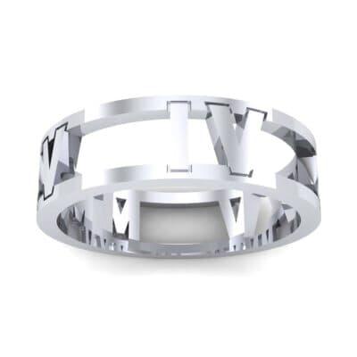 Wide Roman Cutout Ring