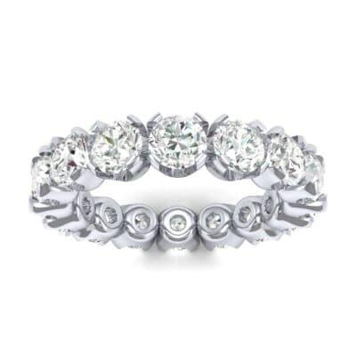 Round Brilliant Diamond Eternity Ring (0.96 Carat)