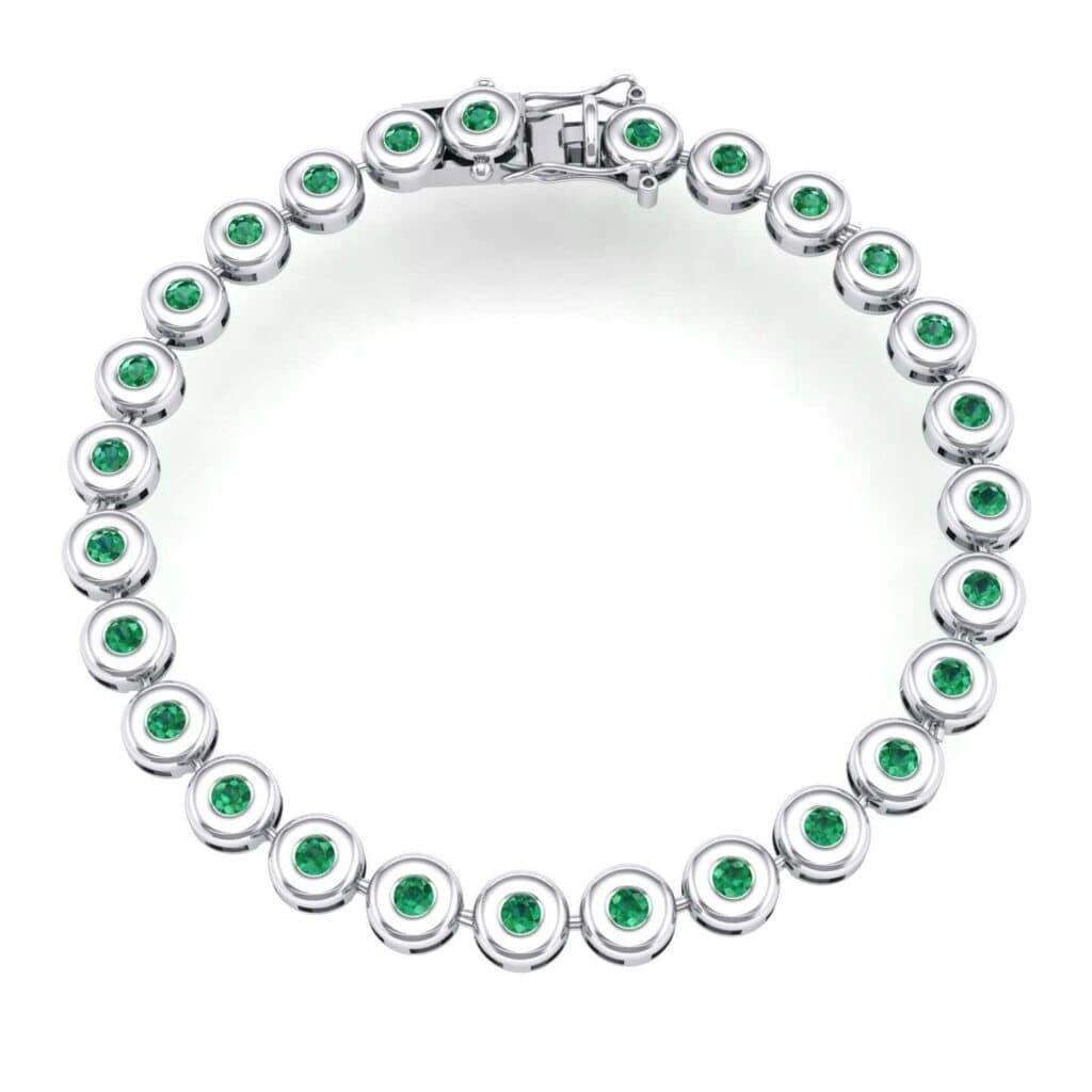 4127 Render 1 01 Camera1 Stone 1 Emerald 0 Floor 0 Metal 4 White Gold 0 Emitter Aqua Light 0