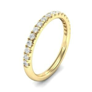 Pave Diamond Ring (0.28 Carat)
