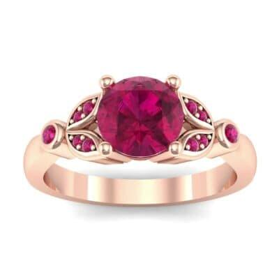 Gardenia Ruby Engagement Ring (0.54 Carat)