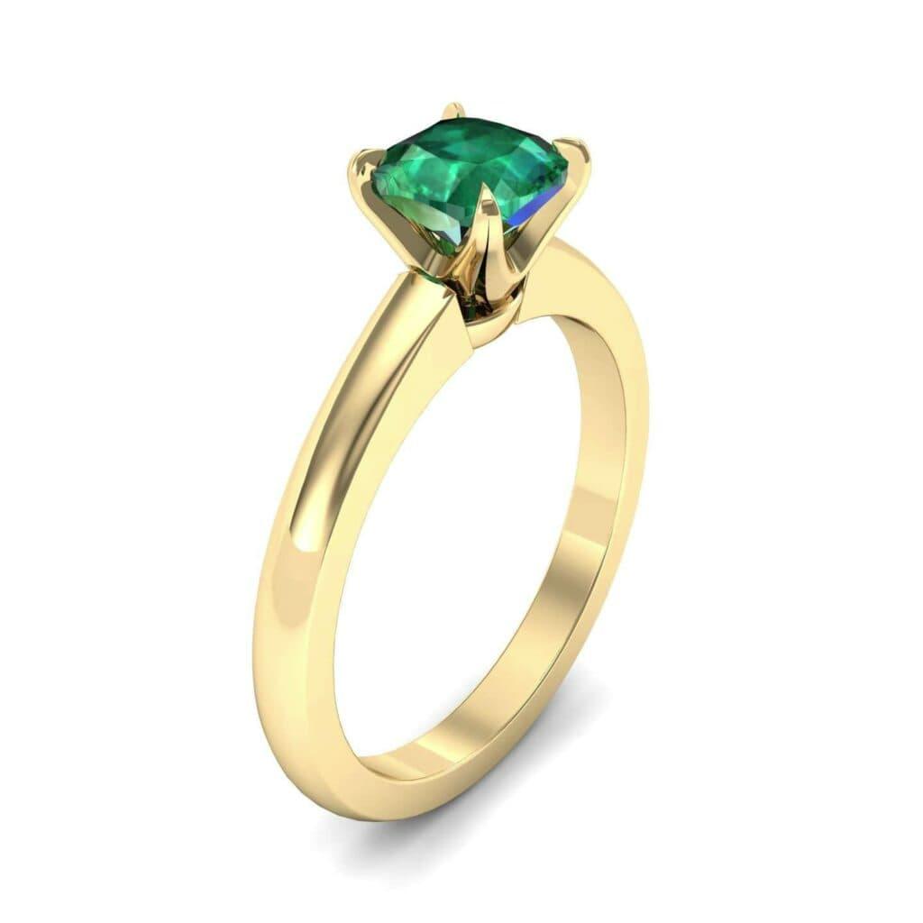 4487 Render 1 01 Camera1 Stone 1 Emerald 0 Floor 0 Metal 3 Yellow Gold 0 Emitter Aqua Light 0
