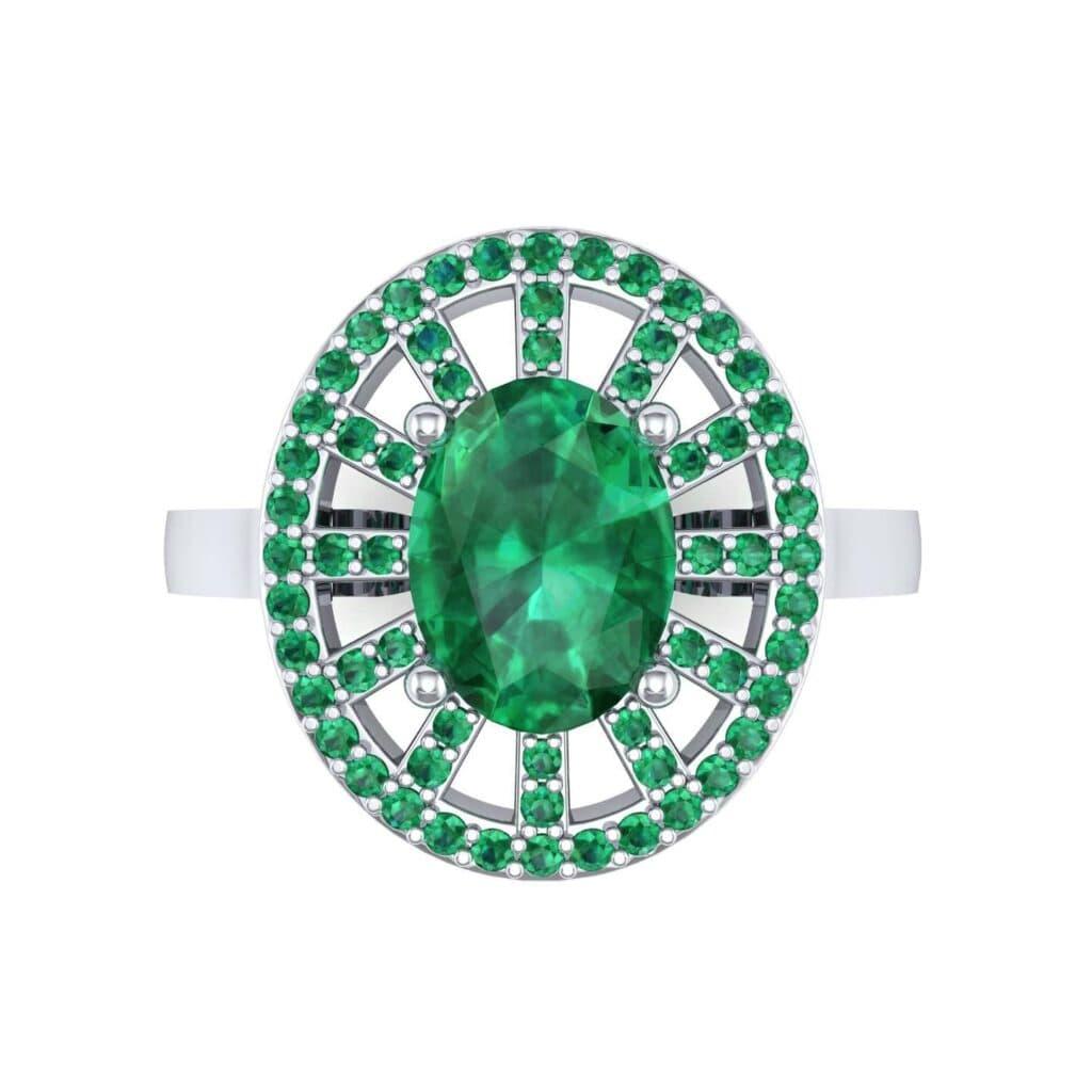 4492 Render 1 01 Camera4 Stone 1 Emerald 0 Floor 0 Metal 1 Platinum 0 Emitter Aqua Light 0