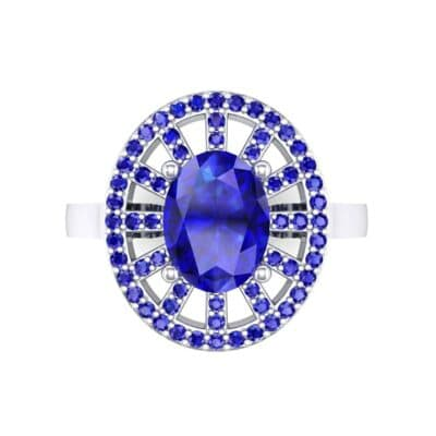 4492 Render 1 01 Camera4 Stone 3 Blue Sapphire 0 Floor 0 Metal 4 White Gold 0 Emitter Aqua Light 0