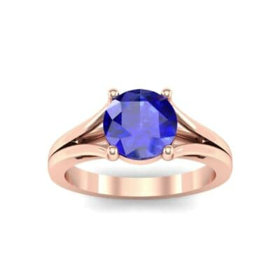 4517 Render 1 01 Camera2 Stone 3 Blue Sapphire 0 Floor 0 Metal 2 Rose Gold 0 Emitter Aqua Light 0