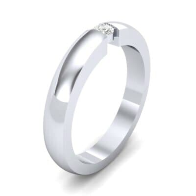 Floating Solitaire Diamond Ring (0.06 Carat)