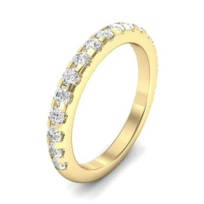 Pave Diamond Ring (0.54 Carat)