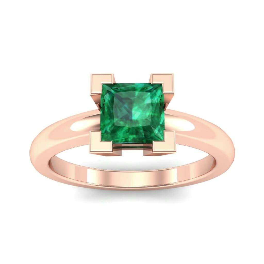 4539 Render 1 01 Camera2 Stone 1 Emerald 0 Floor 0 Metal 2 Rose Gold 0 Emitter Aqua Light 0