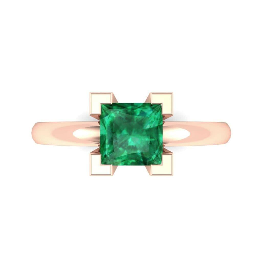 4539 Render 1 01 Camera4 Stone 1 Emerald 0 Floor 0 Metal 2 Rose Gold 0 Emitter Aqua Light 0