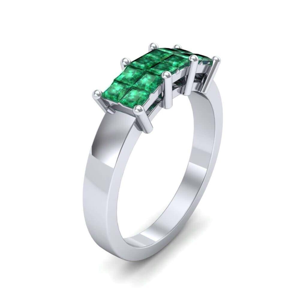 4541 Render 1 01 Camera1 Stone 1 Emerald 0 Floor 0 Metal 1 Platinum 0 Emitter Aqua Light 0