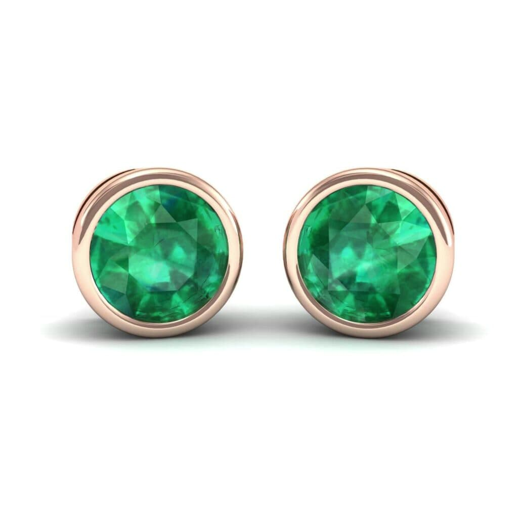 4552 Render 1 01 Camera1 Stone 1 Emerald 0 Floor 0 Metal 2 Rose Gold 0 Emitter Aqua Light 0