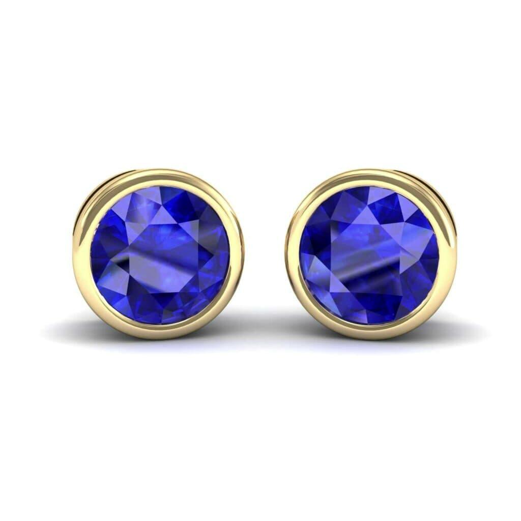 4552 Render 1 01 Camera1 Stone 3 Blue Sapphire 0 Floor 0 Metal 3 Yellow Gold 0 Emitter Aqua Light 0