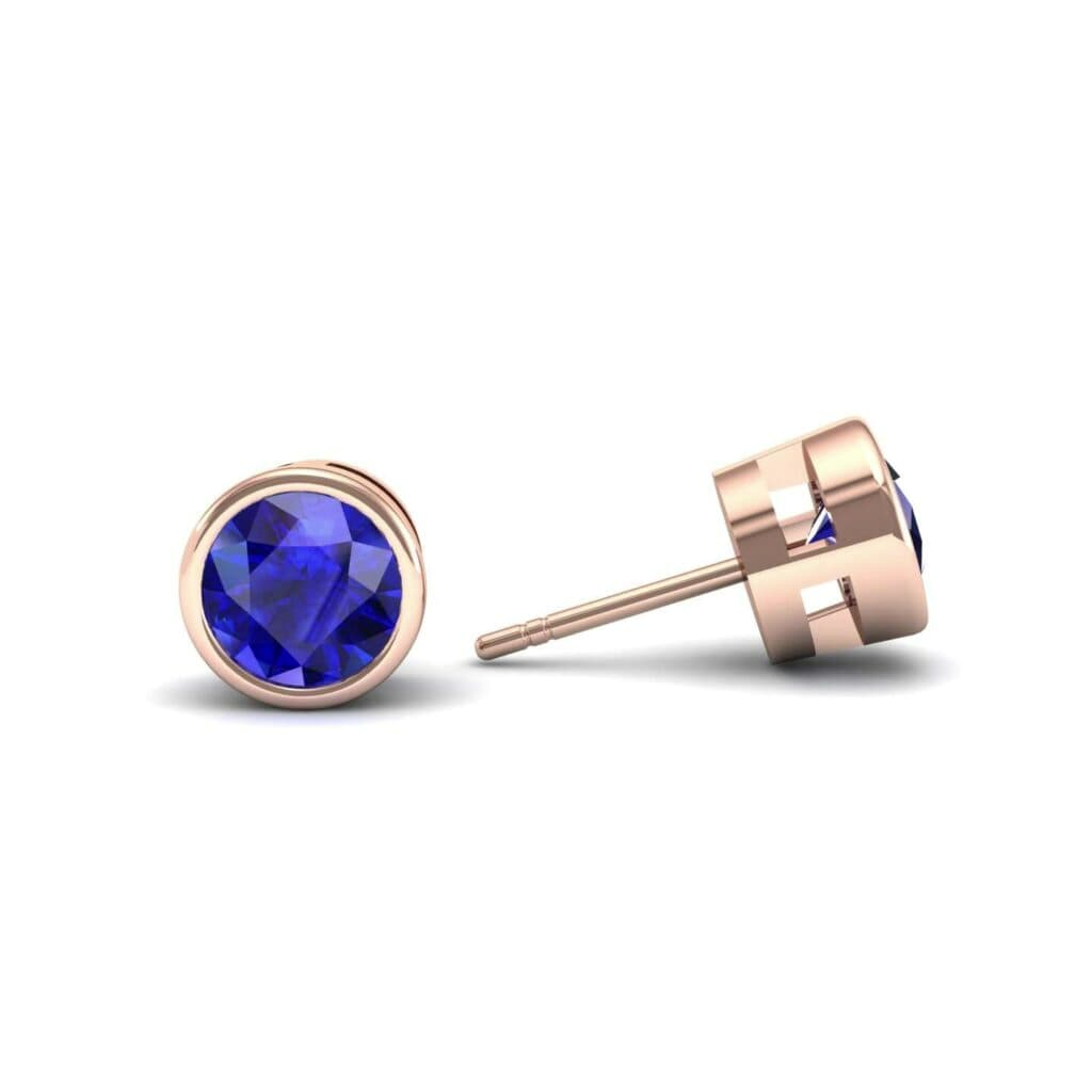 4552 Render 1 01 Camera2 Stone 3 Blue Sapphire 0 Floor 0 Metal 2 Rose Gold 0 Emitter Aqua Light 0