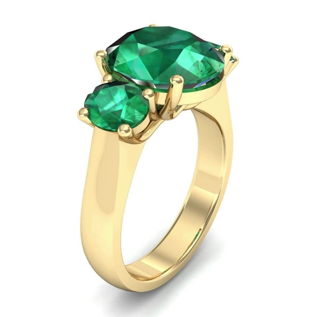 4555 Render 1 01 Camera1 Stone 1 Emerald 0 Floor 0 Metal 3 Yellow Gold 0 Emitter Aqua Light 0