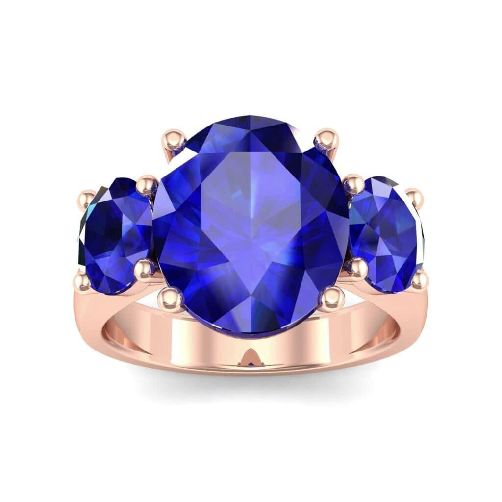 4555 Render 1 01 Camera2 Stone 3 Blue Sapphire 0 Floor 0 Metal 2 Rose Gold 0 Emitter Aqua Light 0