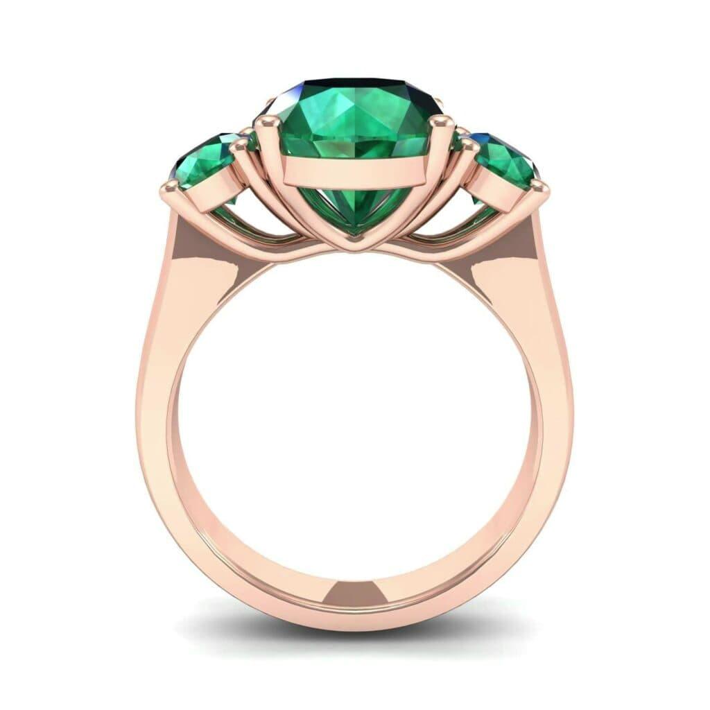 4555 Render 1 01 Camera3 Stone 1 Emerald 0 Floor 0 Metal 2 Rose Gold 0 Emitter Aqua Light 0