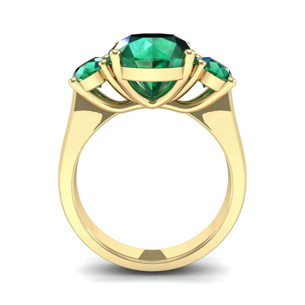 4555 Render 1 01 Camera3 Stone 1 Emerald 0 Floor 0 Metal 3 Yellow Gold 0 Emitter Aqua Light 0