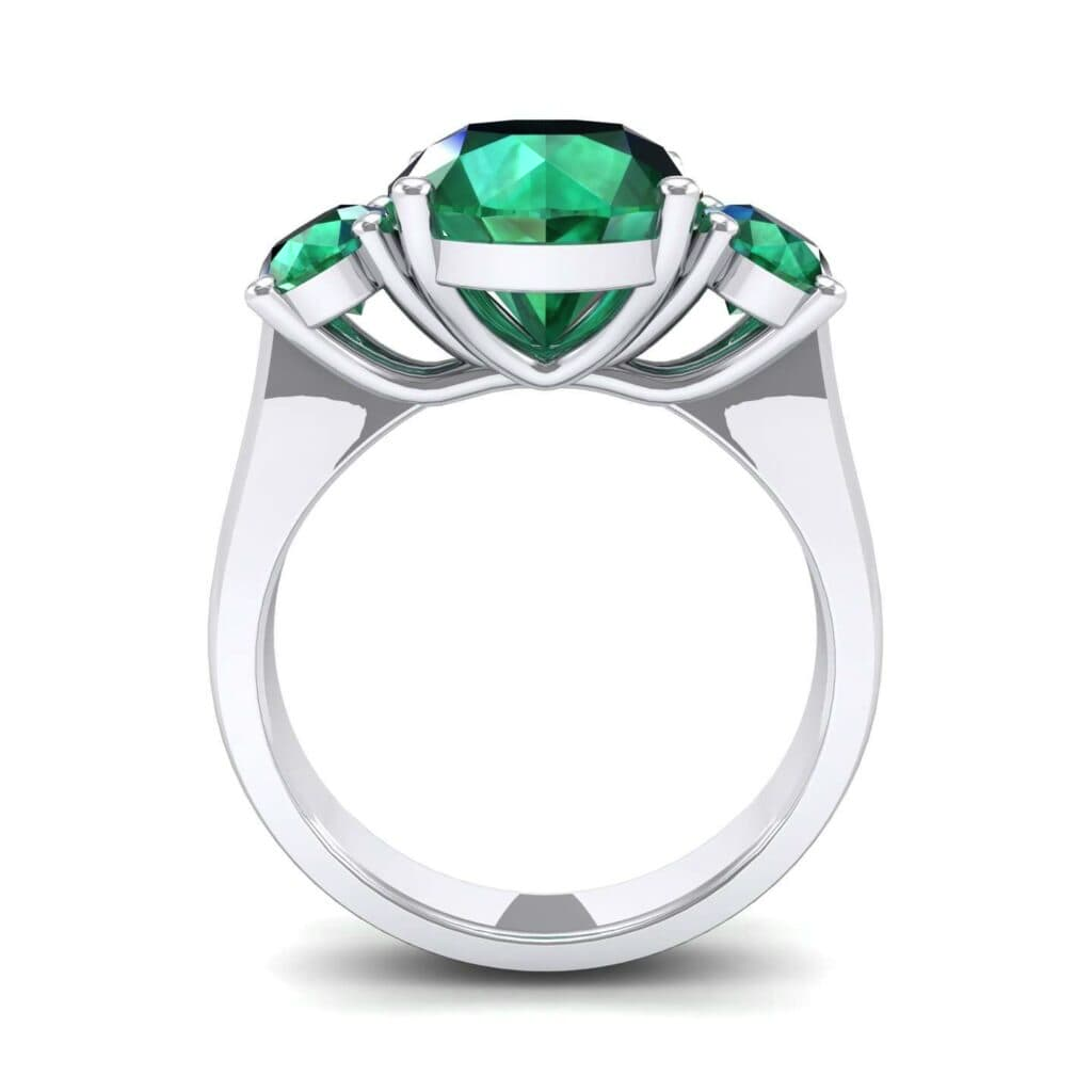 4555 Render 1 01 Camera3 Stone 1 Emerald 0 Floor 0 Metal 4 White Gold 0 Emitter Aqua Light 0