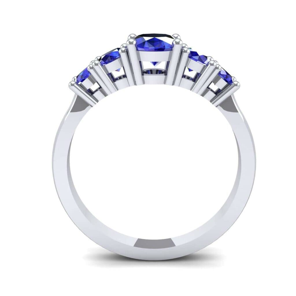 4570 Render 1 01 Camera3 Stone 3 Blue Sapphire 0 Floor 0 Metal 1 Platinum 0 Emitter Aqua Light 0