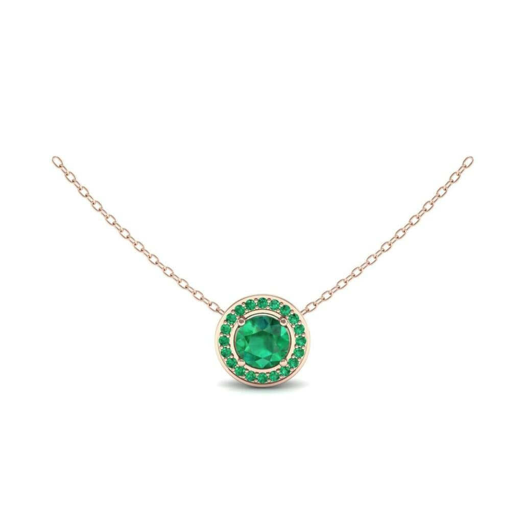4578 Render 1 01 Camera1 Stone 1 Emerald 0 Floor 0 Metal 2 Rose Gold 0 Emitter Aqua Light 0