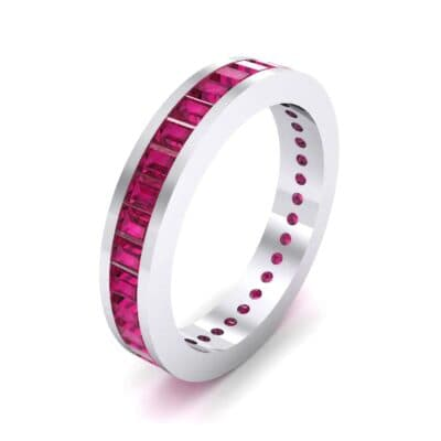 Channel-Set Baguette Ruby Eternity Ring (2.04 CTW)