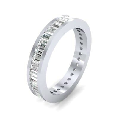 Channel-Set Baguette Diamond Eternity Ring (1.88 Carat)