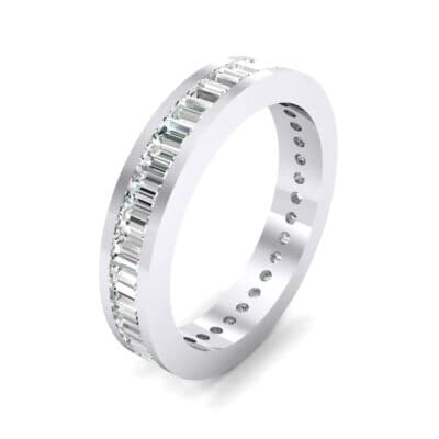 Channel-Set Baguette Diamond Eternity Ring (1.88 CTW)