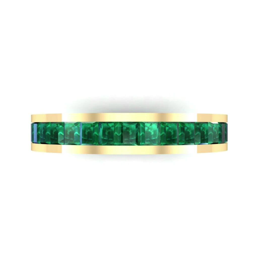 4610 Render 1 01 Camera4 Stone 1 Emerald 0 Floor 0 Metal 3 Yellow Gold 0 Emitter Aqua Light 0
