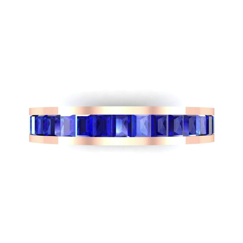 4610 Render 1 01 Camera4 Stone 3 Blue Sapphire 0 Floor 0 Metal 2 Rose Gold 0 Emitter Aqua Light 0