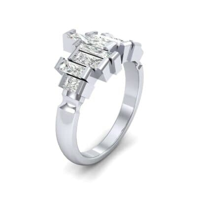 Staggered Bar-Set Diamond Ring (1.68 CTW)