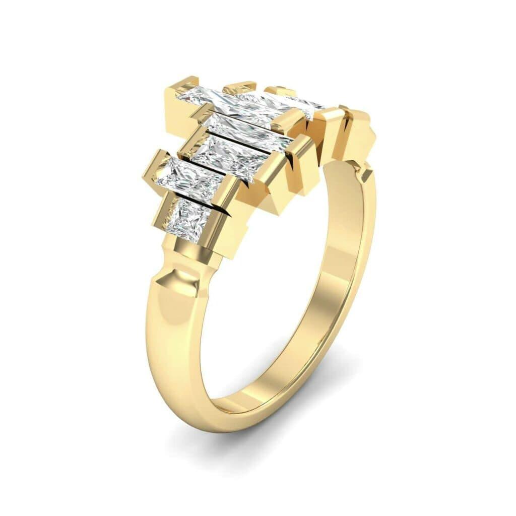 4621 Render 1 01 Camera1 Stone 4 Diamond 0 Floor 0 Metal 3 Yellow Gold 0 Emitter Aqua Light 0