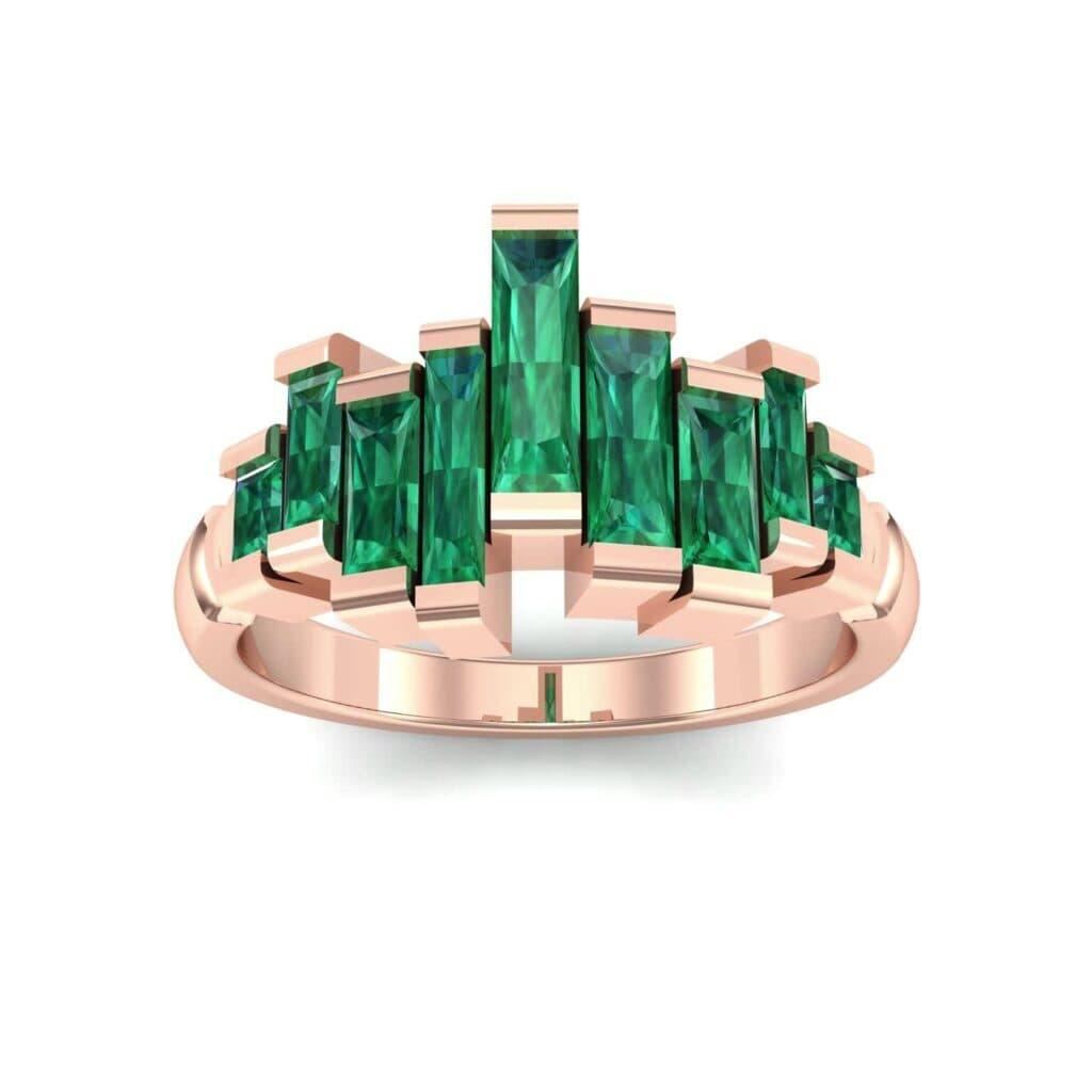 4621 Render 1 01 Camera2 Stone 1 Emerald 0 Floor 0 Metal 2 Rose Gold 0 Emitter Aqua Light 0