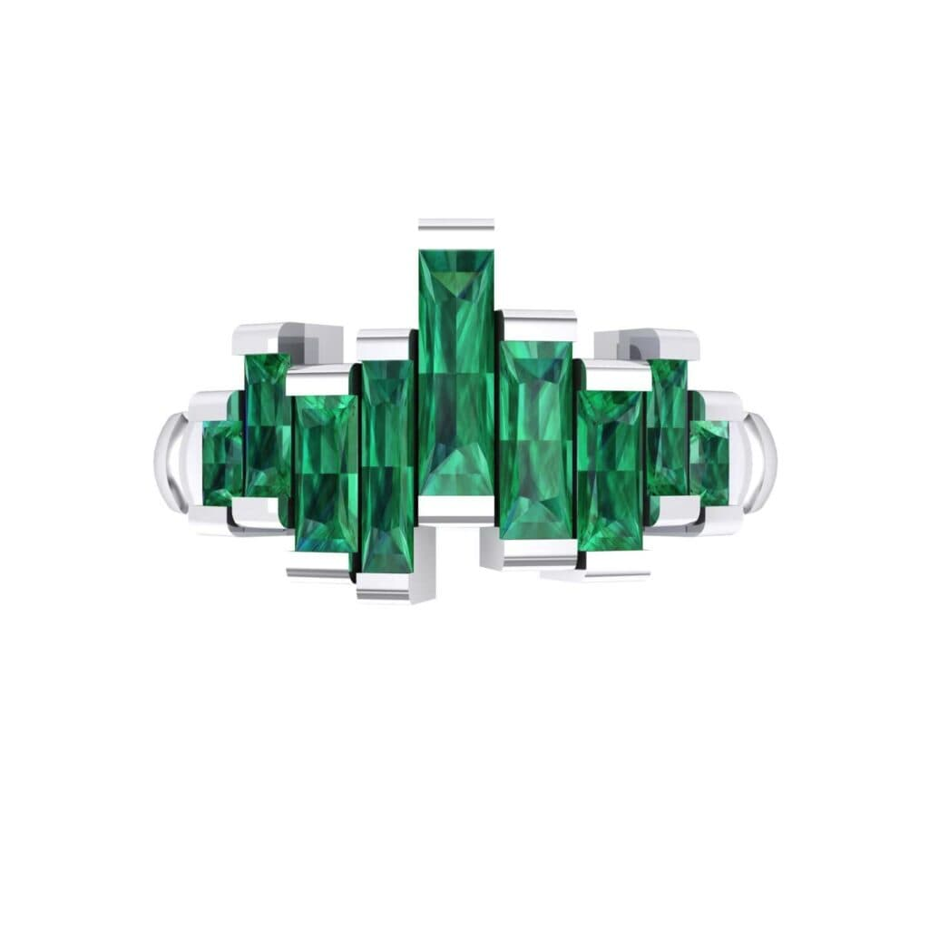 4621 Render 1 01 Camera4 Stone 1 Emerald 0 Floor 0 Metal 4 White Gold 0 Emitter Aqua Light 0