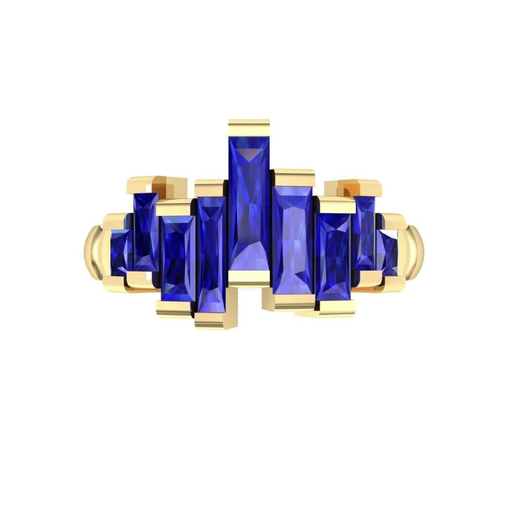 4621 Render 1 01 Camera4 Stone 3 Blue Sapphire 0 Floor 0 Metal 3 Yellow Gold 0 Emitter Aqua Light 0