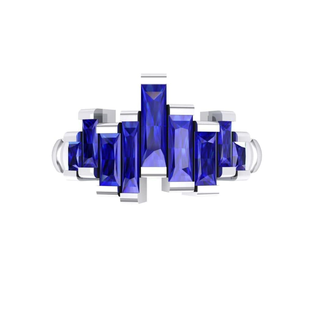 4621 Render 1 01 Camera4 Stone 3 Blue Sapphire 0 Floor 0 Metal 4 White Gold 0 Emitter Aqua Light 0