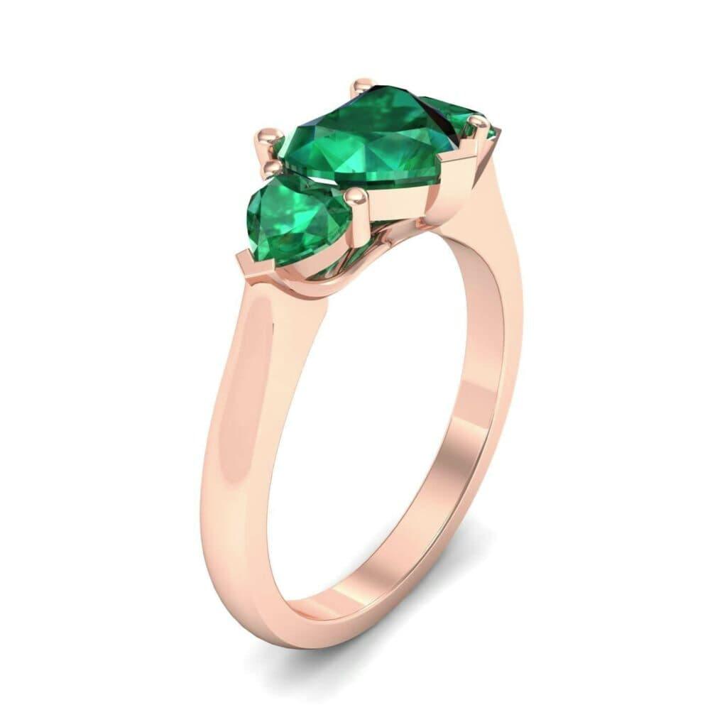 4656 Render 1 01 Camera1 Stone 1 Emerald 0 Floor 0 Metal 2 Rose Gold 0 Emitter Aqua Light 0