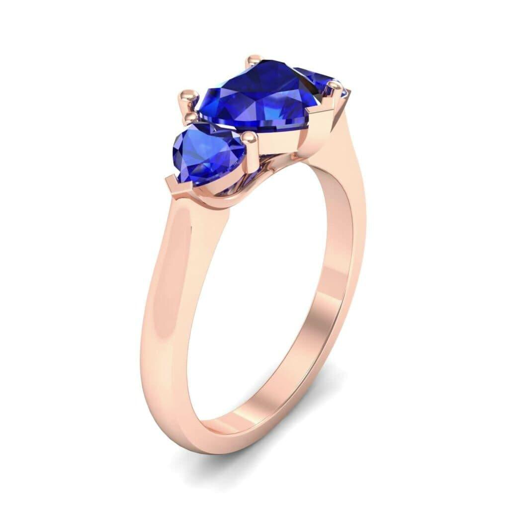 4656 Render 1 01 Camera1 Stone 3 Blue Sapphire 0 Floor 0 Metal 2 Rose Gold 0 Emitter Aqua Light 0