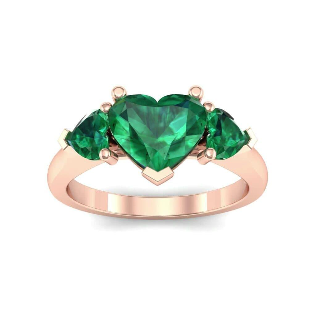 4656 Render 1 01 Camera2 Stone 1 Emerald 0 Floor 0 Metal 2 Rose Gold 0 Emitter Aqua Light 0