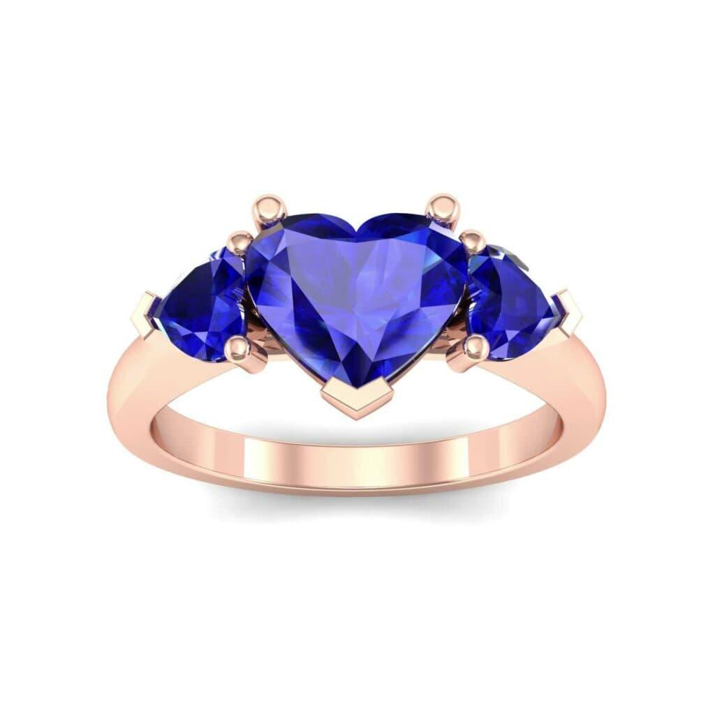 4656 Render 1 01 Camera2 Stone 3 Blue Sapphire 0 Floor 0 Metal 2 Rose Gold 0 Emitter Aqua Light 0