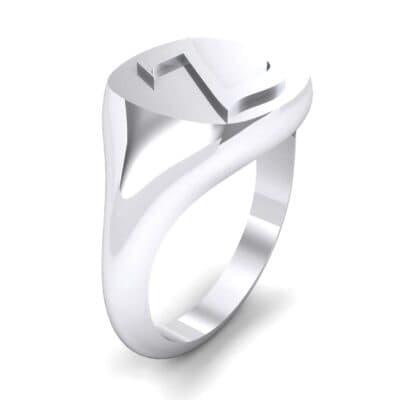 Custom Initial Signet Ring