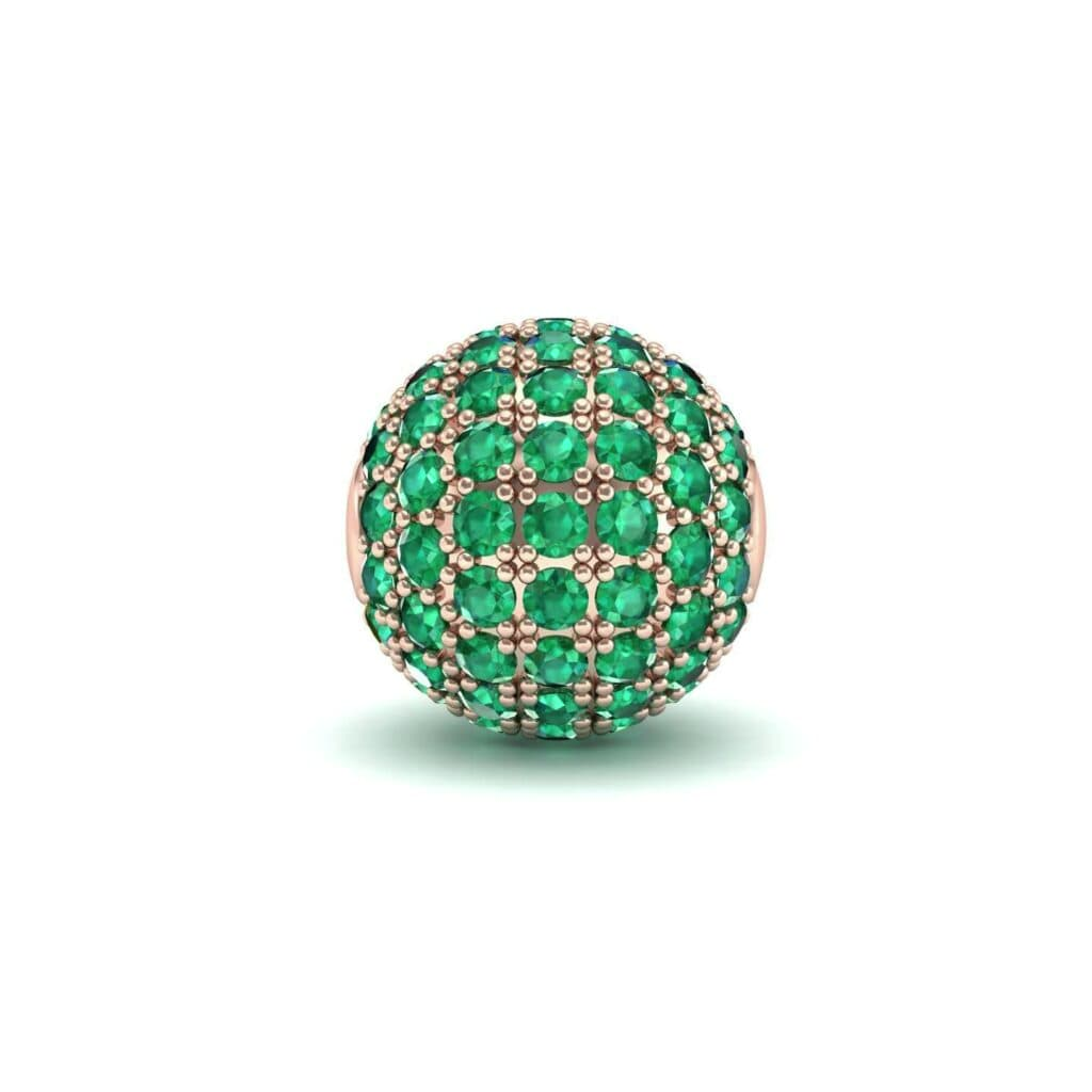 4742 Render 1 01 Camera1 Stone 1 Emerald 0 Floor 0 Metal 2 Rose Gold 0 Emitter Aqua Light 0