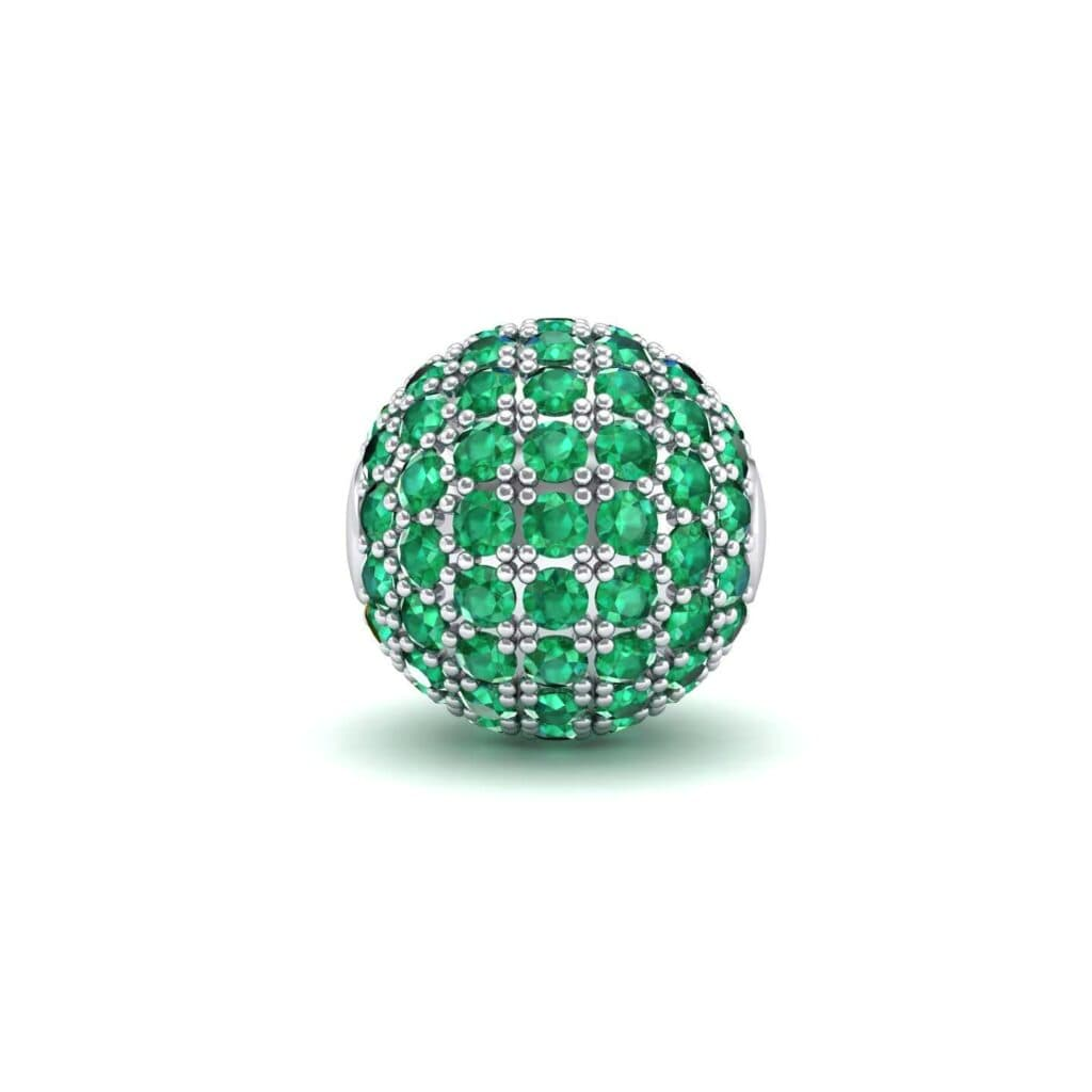 4742 Render 1 01 Camera1 Stone 1 Emerald 0 Floor 0 Metal 4 White Gold 0 Emitter Aqua Light 0